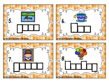Phonics Frames Task Cards: Long E Vowel Teams Set