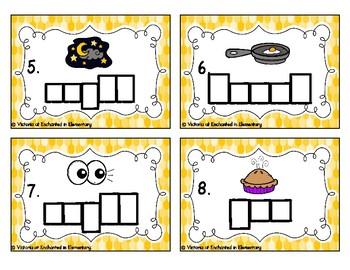 Phonics Frames Task Cards: Long I Vowel Teams Set