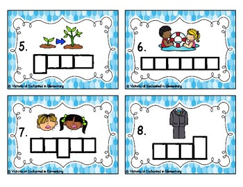Phonics Frames Task Cards: Long U Vowel Teams Set