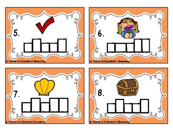 Phonics Frames Task Cards: Short e Word Families Set