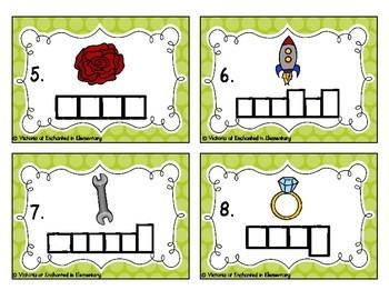 Phonics Frames Task Cards: Wr and r Set