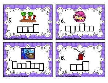 Phonics Frames Task Cards: oi and oy Set