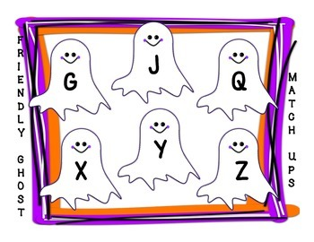 Phonics Freebie #2  Halloween Match Ups