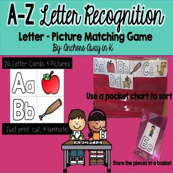 Letter Recognition game