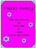 Phonics Frenzy Packet