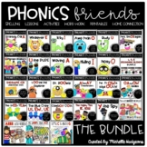 Phonics Activities: Phonics Friends BUNDLE