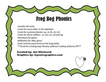 Phonics: Frog Bog
