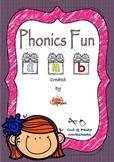 Phonics Fun & CVC words - Cut and Paste