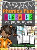 Phonics Fun: Digraphs [ch, ph, sh, th, wh]