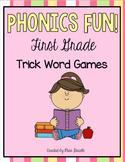 Phonics Fun First Grade Level Trick Word Games