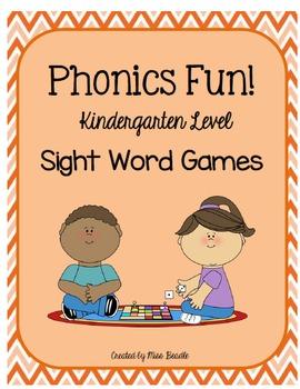 Phonics Fun Kindergarten Level