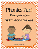 Phonics Fun Kindergarten Level