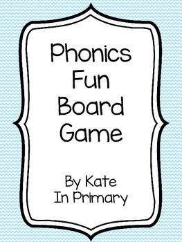 Phonics Fun Nonsense Words Board Game