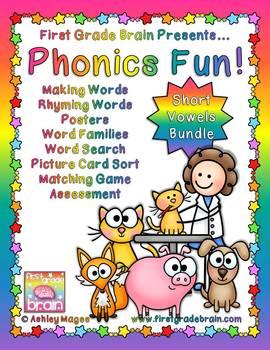 Phonics Fun: Short Vowels - The Bundle!
