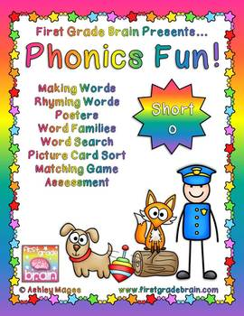 Phonics Fun: Short o Activities