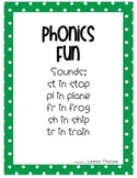 Phonic's Fun: Special Sounds:  tr, fr, st, pl, and sh