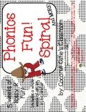 Phonics Fun Spiral-Bossy R-A 5 week Unit