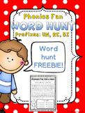 Phonics Fun Word Hunt FREEBIE - Prefixes UN, RE, BI