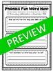 Phonics Fun Word Hunt Pack - AL, AW, AU Pattern