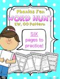 Phonics Fun Word Hunt Pack - EW, OO Pattern