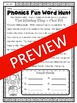 Phonics Fun Word Hunt Pack - OU, OW Pattern
