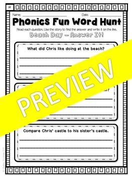 Phonics Fun Word Hunt Pack - R-Controlled IR