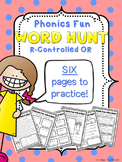 Phonics Fun Word Hunt Pack - R-Controlled OR