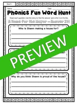 Phonics Fun Word Hunt Pack - Short I Pattern