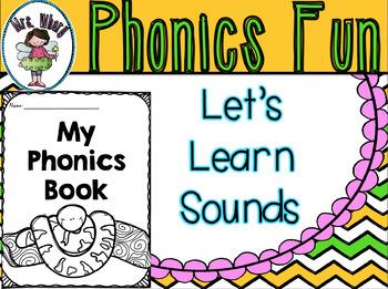 Phonics Fun Worksheets {NSW Font}
