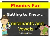 Phonics Fun _ Consonant and Vowels BOOM CARDS... FREE for