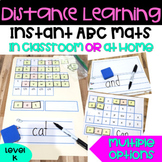 FUN Phonics Magnetic Board | ABC MATS | Distance Learning Printable | K