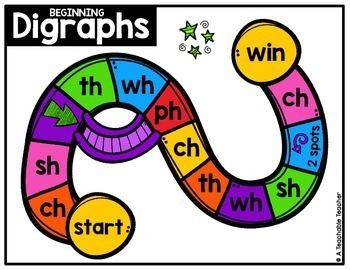 Blends and Digraphs Word Slide