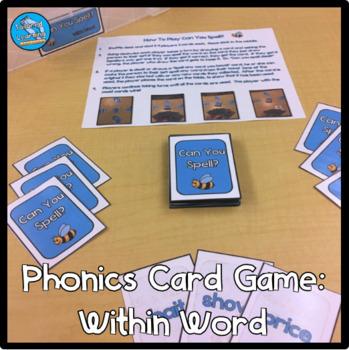 Phonics Card Game: (Long Vowels, R-Controlled, Complex Consonants, Vowel Teams)