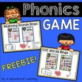 Phonics Game FREEBIE