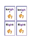 Phonics Game- Go Fish- igh words