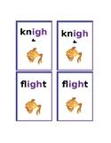 Phonics Game- Go Fish- igh words