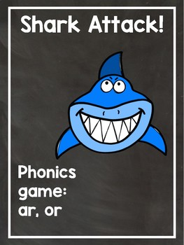 Phonics Game R-controlled vowels ar, or