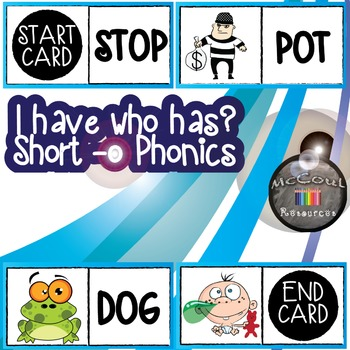 Phonics Game - Short O - I have Who Has