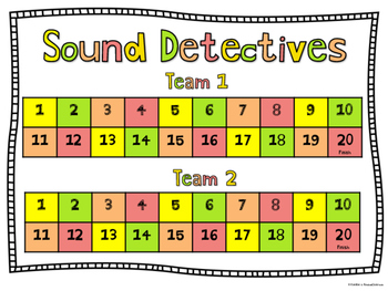 Phonics Game - Sound Detectives