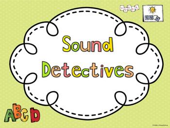 Phonics Game - Sound Detectives