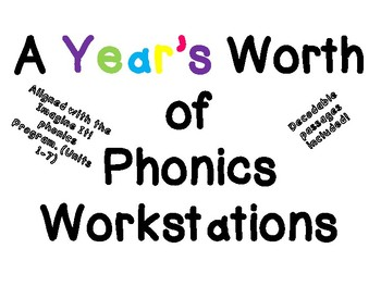 Phonics Game Station- A Years Bundle!
