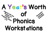Imagine It- Phonics Work Station- A Years Bundle!