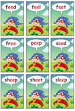'PHONICS GAME': A Phonics Game for Practicing 'When Two Vo