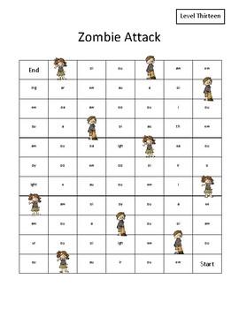 Phonics Game: Zombie Attack
