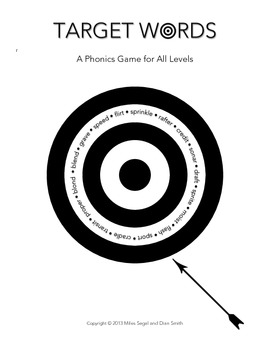 Phonics Game for All Levels: TARGET WORDS