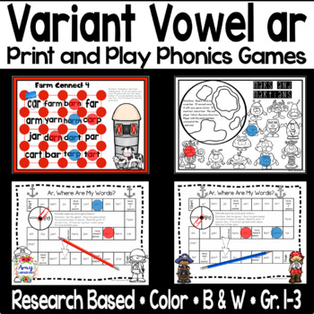 Phonics Game for -ar Sound