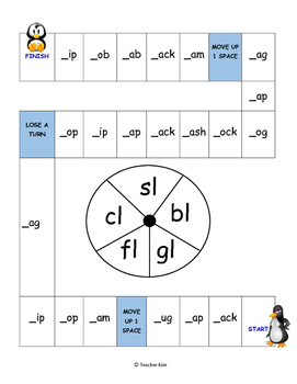 "Phonics Game for "" l "" blends"