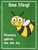 Phonics Game vowel teams ee, ea, ey