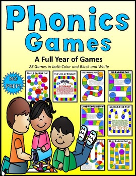 Phonics Games All Year Long