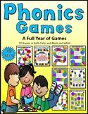 Phonics Games All Year Long